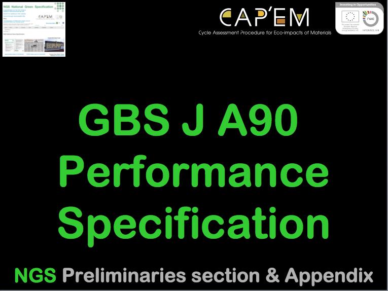 GBS J A90 PerfSpec CPDCover png