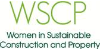 WSCP Women in Sustainable Construction & Property Logo png