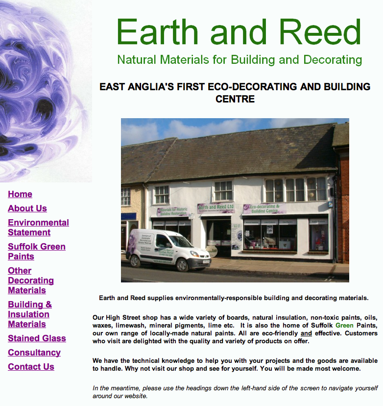 EarthReed HomePage png