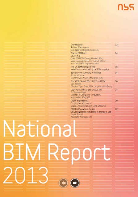 NBS BIM Report 2013 png