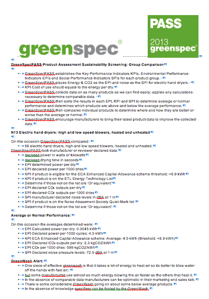 GreenSpecPASS N13 Group Conclusions A03 png