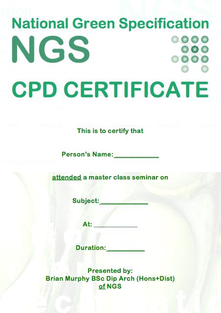 NGS CPD Certificate png