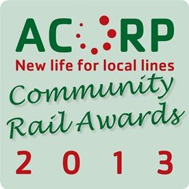 Acorp CRA Community Railway Awards 2013 Logo png