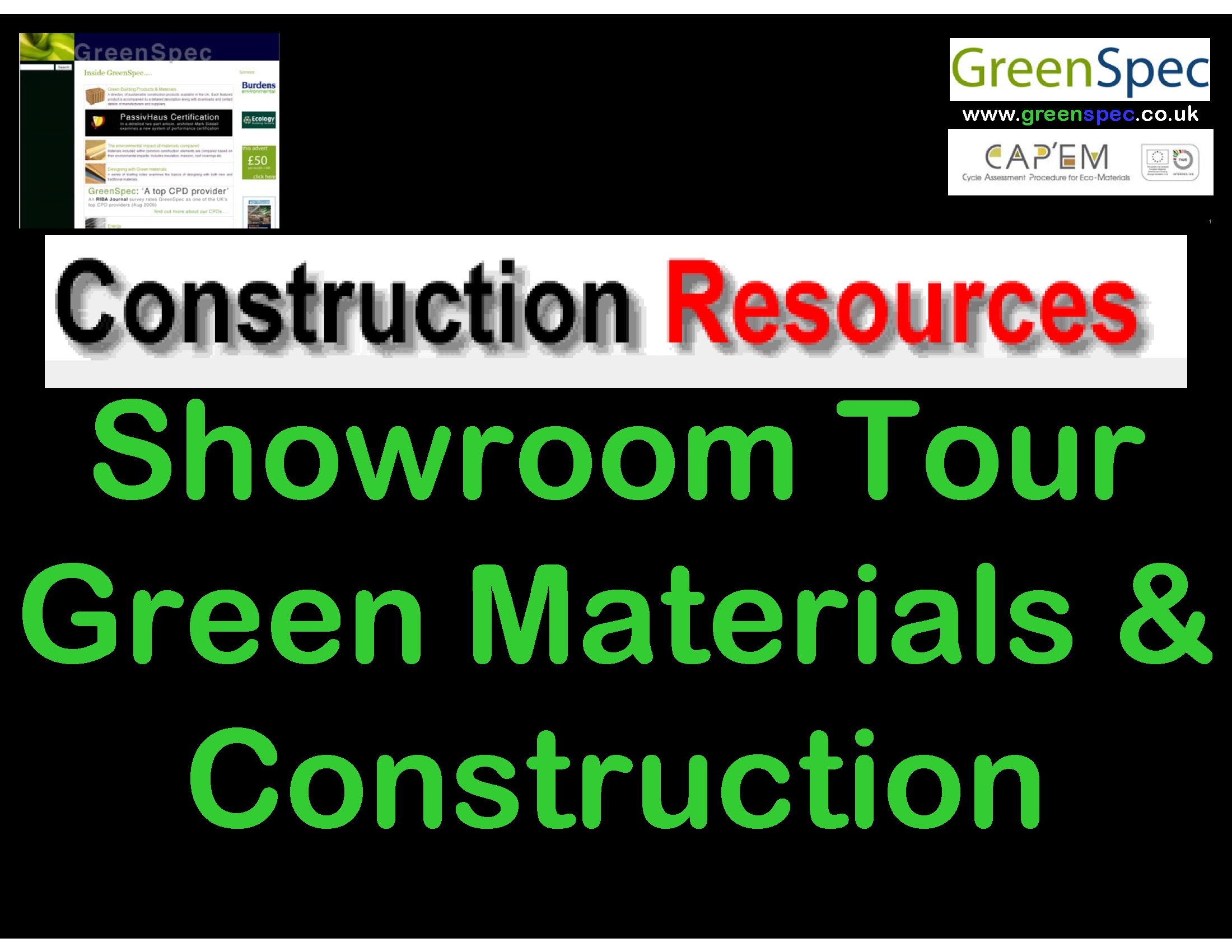 Construction Resources Showroom Cover png