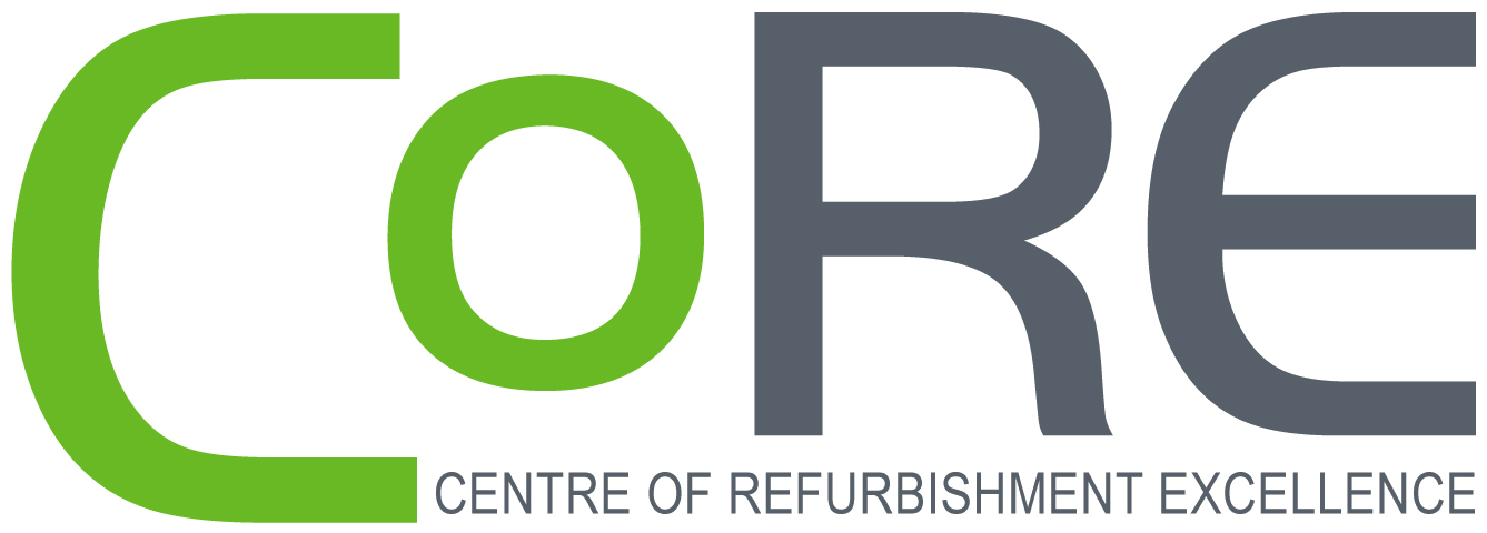 CoRE Centre of Refurbishment Excellence Logo png
