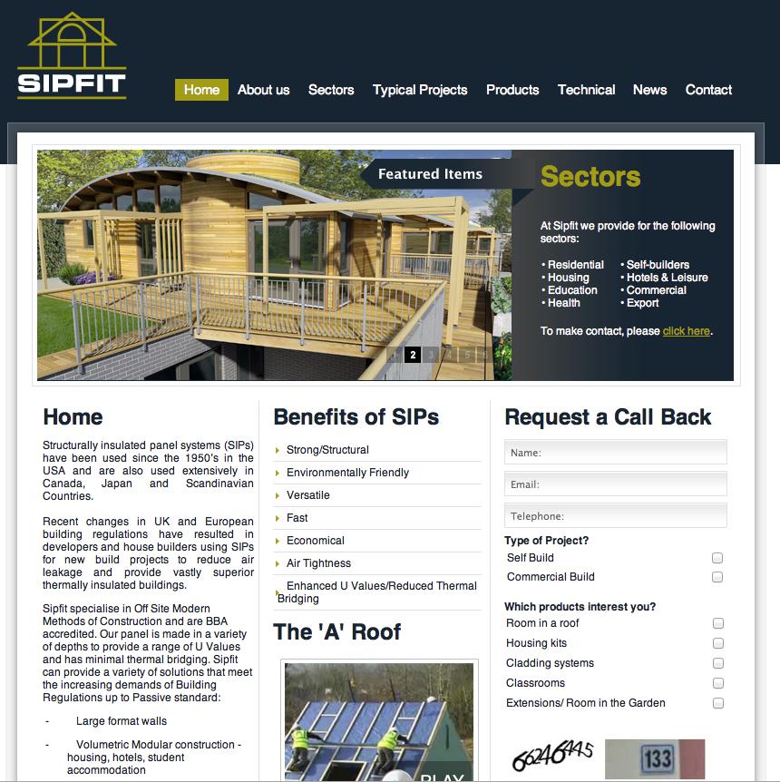 SIPFIT Homepage png
