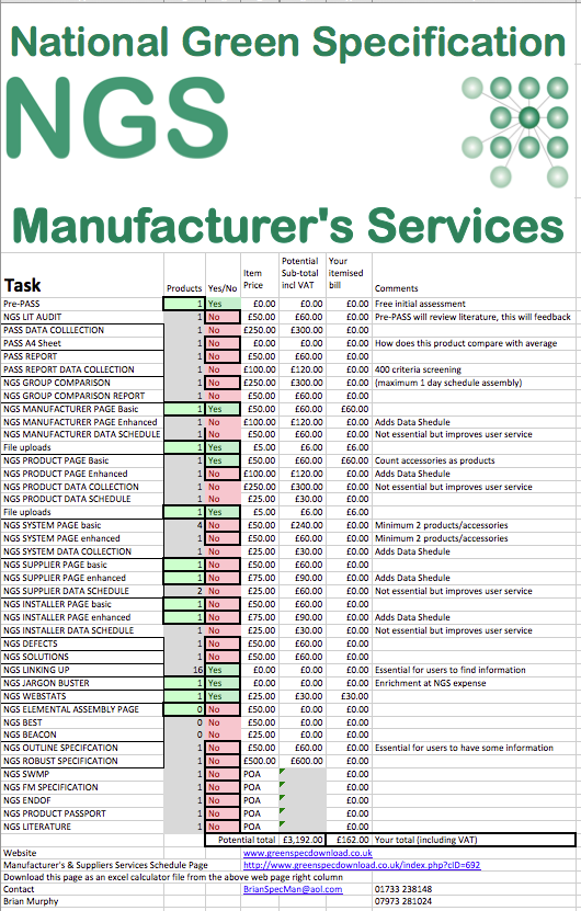 NGS Manufacturer Services Excel A00 png